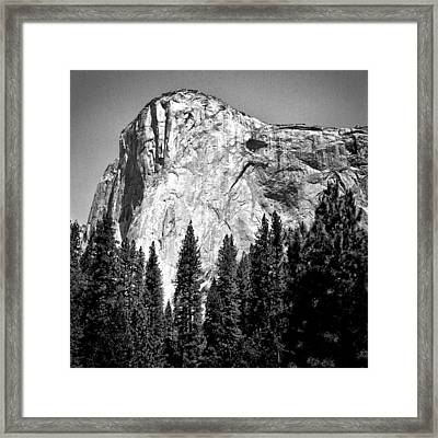 El Capitan Framed Print by Jeff Burton