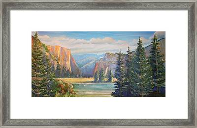 El Capitan  Yosemite National Park Framed Print