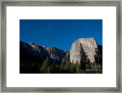 El Capitan, Yosemite Np Framed Print by Mark Newman