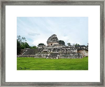 El Caracol Framed Print