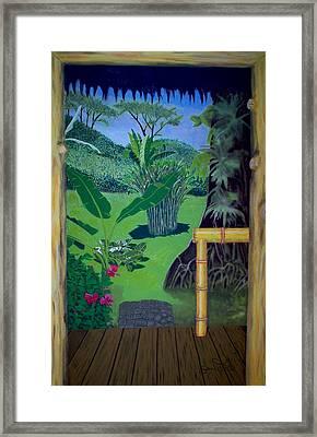 El Caribe Framed Print
