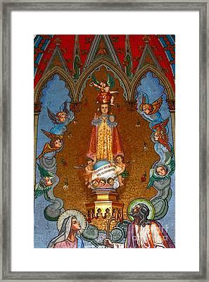El Carmen Church Panama City Framed Print