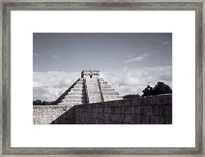 El Castillo Framed Print by Richie Stewart