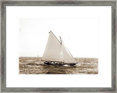 El Chico, El Chico Yacht, Yachts Framed Print