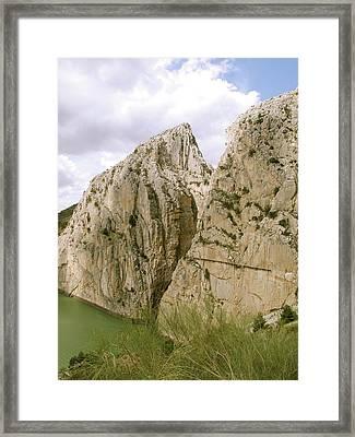 El Chorro Gorge Framed Print