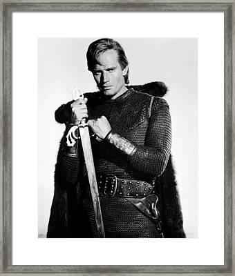 El Cid, Charlton Heston, 1961 Framed Print