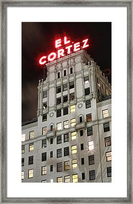 El Cortez II Framed Print