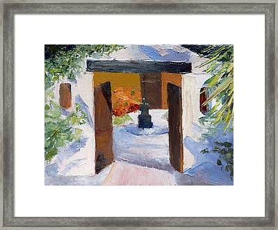El Cortijo Galleries Framed Print