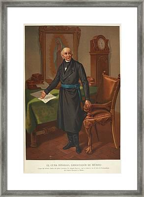 El Cura Hidalgo Framed Print by British Library