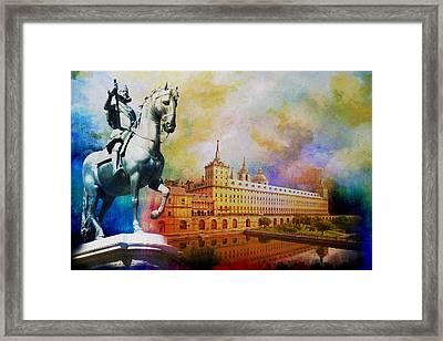 El Escorial Monastry Framed Print