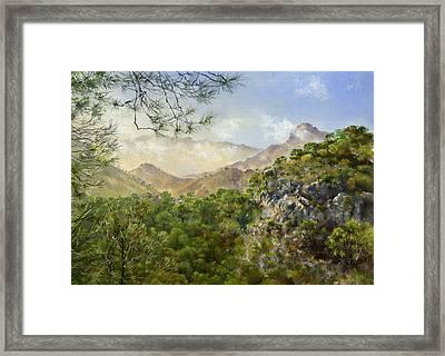 El Fuerte Framed Print by Margaret Merry