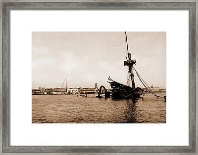 El Mar De La Cabana, Jackson, William Henry Framed Print