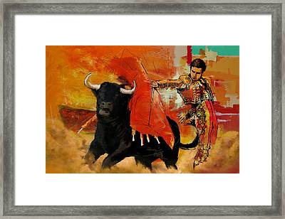 El Matador Framed Print by Corporate Art Task Force