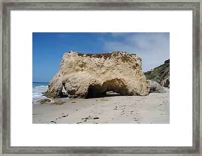 Framed Print featuring the photograph El Matador In Malibu by Robert  Moss