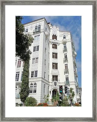 El Mirador Apartment Building Framed Print by Deborah Smolinske