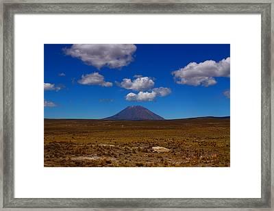 El Misti Framed Print