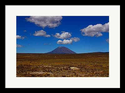 Arequipa Framed Prints
