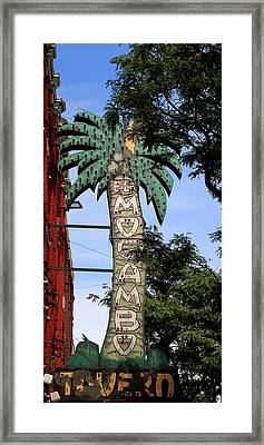 El Mocambo Tavern Framed Print by Andrew Fare