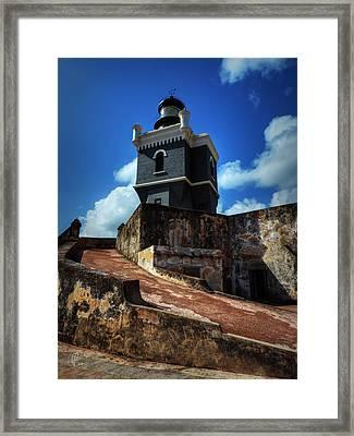 El Morro 001 Color Framed Print by Lance Vaughn