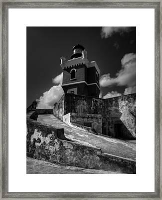 El Morro 001 Framed Print by Lance Vaughn