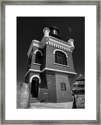 El Morro 002 Bw Framed Print by Lance Vaughn