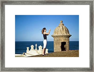 El Morro Fortress And Church Framed Print