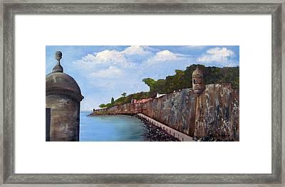 El Morro Framed Print