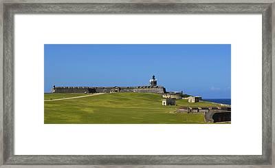 El Morro Panorama Framed Print