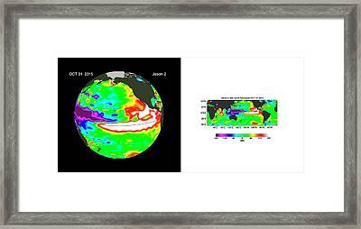 El Nino Framed Print by Nasa