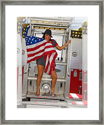 El Paso Drag20 Framed Print