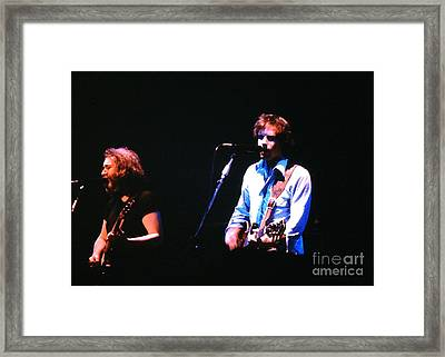 The Grateful Dead 1980 Capitol Theatre Framed Print by Susan Carella