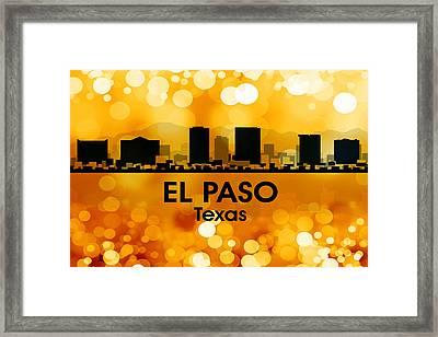 El Paso Tx 3 Framed Print