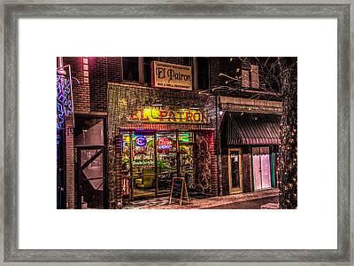 El Patron #2 Framed Print by Ray Congrove
