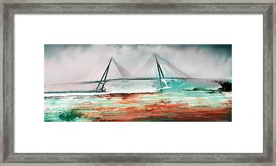 El Puente De Ayamonte Framed Print