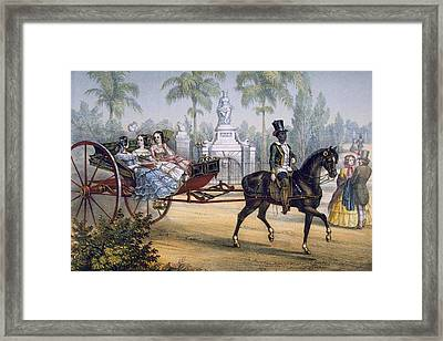 El Quitrin, Cuba Framed Print by Spanish School