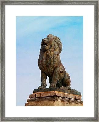 Framed Print featuring the photograph El Rey by Dick Botkin