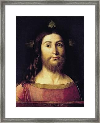 El Salvador Framed Print by Giovanni Bellini