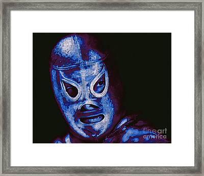 El Santo The Masked Wrestler 20130218m168 Framed Print