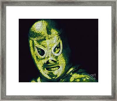 El Santo The Masked Wrestler 20130218p39 Framed Print
