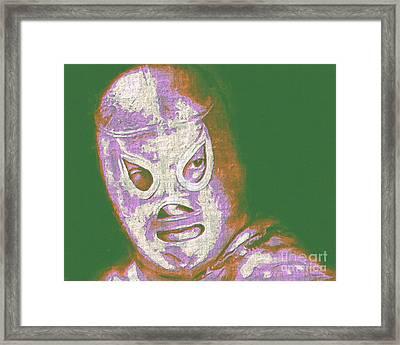El Santo The Masked Wrestler 20130218v2m128 Framed Print