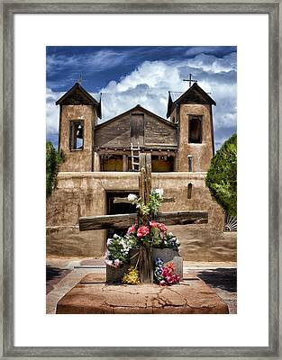 El Santuario De Chimayo #1 Framed Print by Nikolyn McDonald