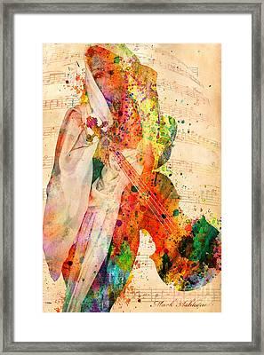 El Violin  Framed Print by Mark Ashkenazi