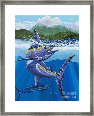 El Yunque Framed Print by Carey Chen