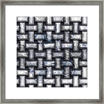 Elaborate Compounds Framed Print by Diuno Ashlee