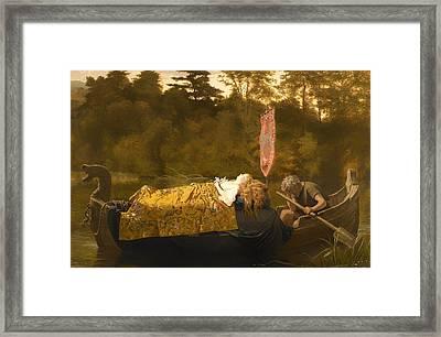 Elaine Framed Print by Mountain Dreams