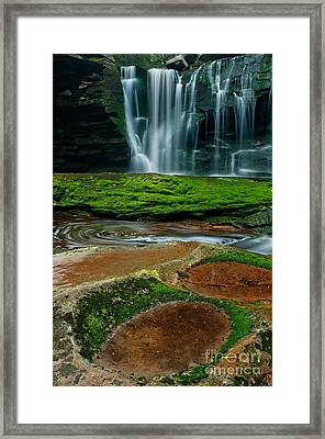 Elakala Fall #1 D30010335 Framed Print by Kevin Funk