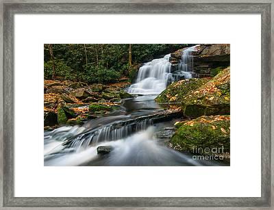 Elakala Falls #2 D30016017 Framed Print by Kevin Funk