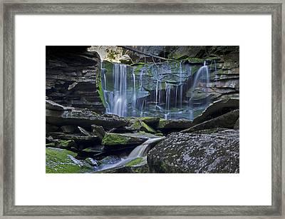 Elakala Falls Number 1 Framed Print