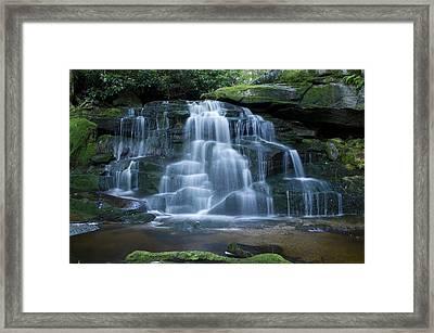 Elakala Falls Number 2 Framed Print