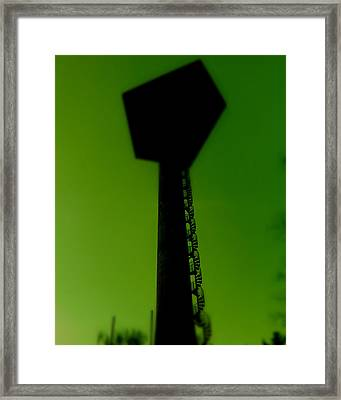 Framed Print featuring the photograph Elastic Concrete Part Four by Sir Josef - Social Critic - ART